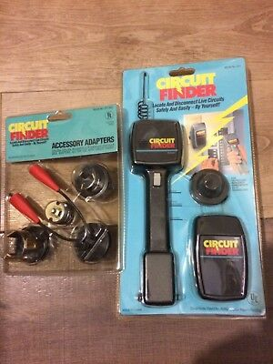 Circuit Breaker Finder, 110/240VAC Model CF1 WITH ACCESSORY ADAPTERS
