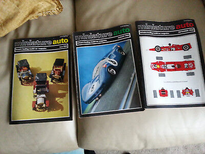 Original Miniature Auto mags 1968 slot cars choose one you want 3 availible