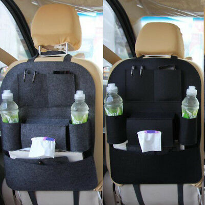 Car Back Seat Tidy Organiser Storage Pockets Pouch Travel Kids Baby Bags Holder