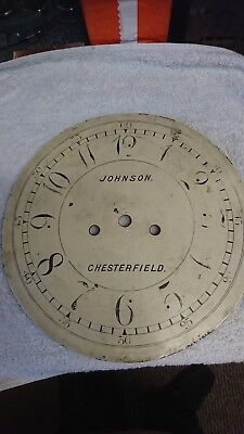 Longcase Clock Parts 8day johnson chesterfield spares restoration 13 inch round