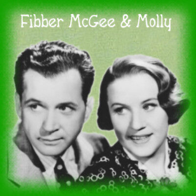 FIBBER McGEE AND MOLLY Old Time Radio Shows - 621 MP3s on DVD