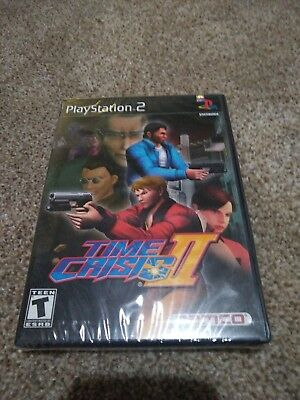 Time Crisis II (Sony PlayStation 2, 2001) Brand NEW Factory Sealed Rare