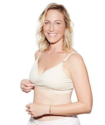 The Dairy Fairy Arden- All-in-One Nursing and Hands-Free Pumping Bra, NAKED