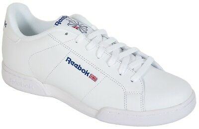 Reebok Workout Plus White Royal Trainers Shoes. £50.00 Buy It Now 12d 2h.  See Details. Reebok NPC II sneakers Classic White 1354 b255dc31e