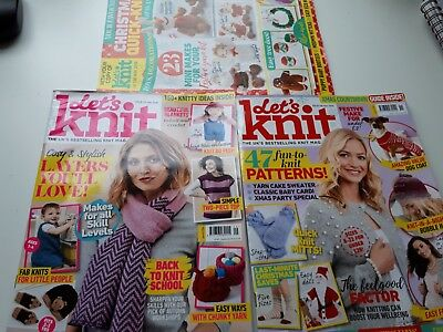 Lets Knit Craft Magazines 2018