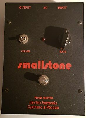 Electro Harmonix Small Stone Phase Shifter Made in Russia - Vintage!