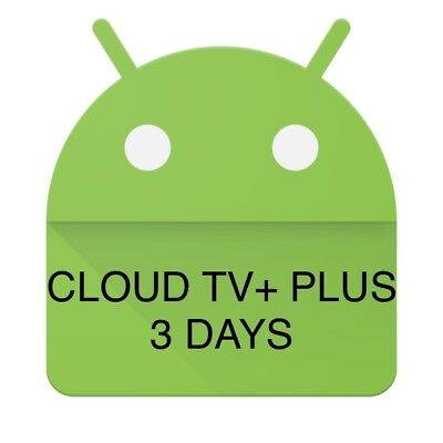 Cloud TV+ PLUS IPTV LIVE TV+VOD Android Firestick Devices 3 Days Test