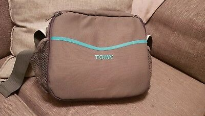 Tomy 3 In 1 Travel Highchair Bag, Changing Mat And Booster.Great for holiday.