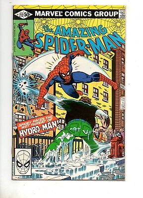 Amazing Spider-Man #212 VF/NM 9.0 1ST APP/ORIGIN HYDRO-MAN! MOVIE BOOK 1981 252