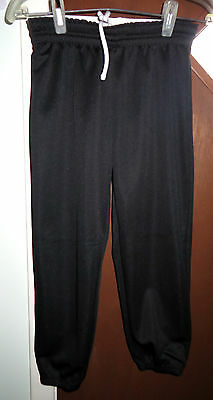 Adidas Baseball Pants Unisex Sz L Black in Good Condition!