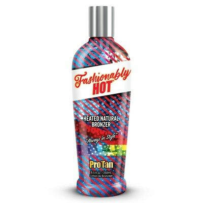 New Pro Tan Fashionably Hot Tingle Bronzer sunbed tanning lotion + Free Goggles