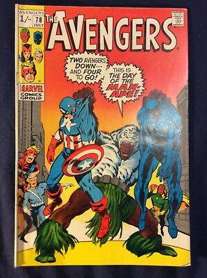 Avengers #78 July 1970 The Day Of The Man-Ape