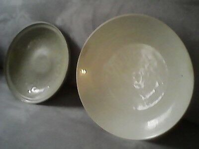 2 Ming Celadons Chinese Treasures Earliest Ming Dynasty And Longquan Plate