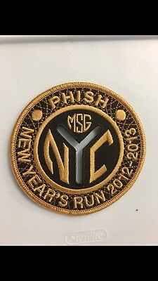 Phish MSG New Years Patch 2012-13 Poster Madison Square Garden Subway Token NYC