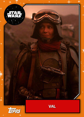 Topps Star Wars Card Trader 2019 Base Wave 2 BRONZE Maz Kanata