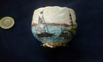 China Cup Nautical Design Old Cannon Ships