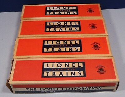 EMPTY BOXES Lot of O Scale / Lionel 022C / EMPTY BOXES