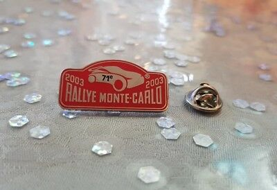 Pin's Rallye Monte-Carlo 2003 / Car Monaco 2003 Pin Badge A.c.m.