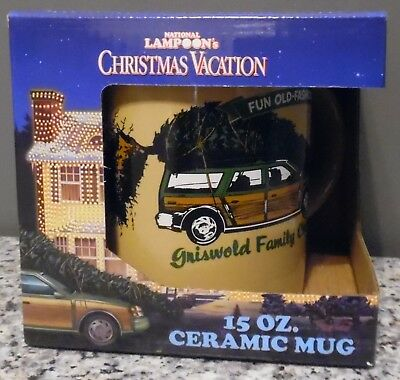 New National Lampoon's Christmas Vacation Ceramic Coffee Mug by ICUP 15 Ounce
