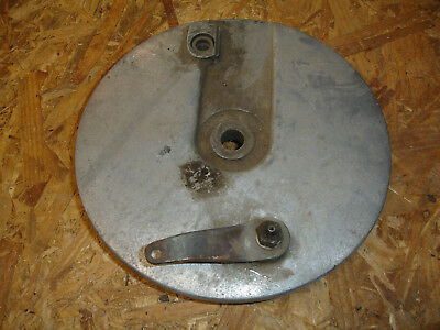 Vintage Wide Glide Brake Outer Cover Shoes Harley Davidson Panhead Shovelhead