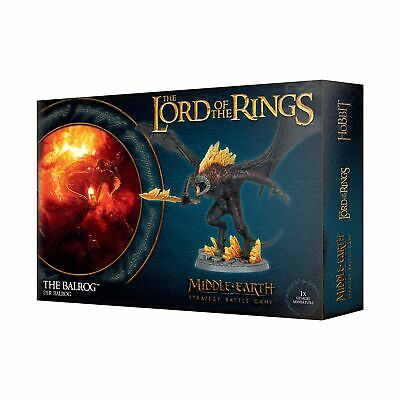 LOTR Balrog Games workshop NIB NEW PLASTIC