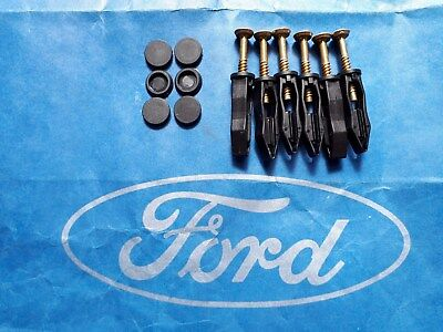Brand new genuine Ford Escort RS Cosworth scuttle panel screws, clips and caps