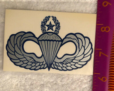 Master Paratrooper Wings Sticker Airborne Jump Military Ranger