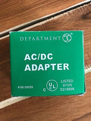 Department 56 Accessories for Villages AC/DC Adapter Lights 56.55026