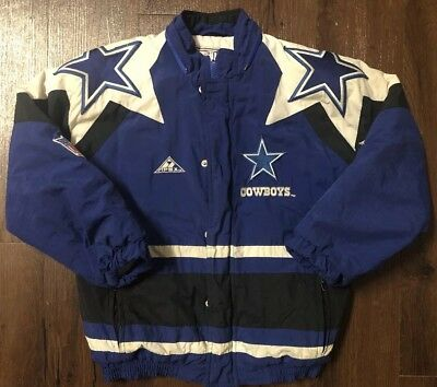 save off b5f7b 94e20 VINTAGE NFL DALLAS Cowboys ADULT MEDIUM Coat Apex One ...