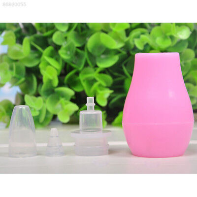 237F Infant Nasal Aspirator Sucker Silicone Baby Nose Mucus Cleaner Pump Soft