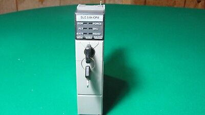 Allen Bradley Slc500 Processor Unit 1747-L541 Series B With Key