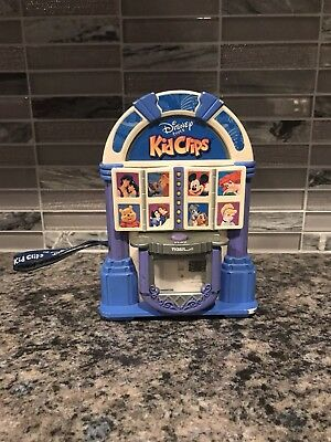 2002 Tiger Electronic Disney Tunes - Kid Clips Jukebox Music Player Kidclips Tag
