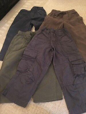 Bundle Of Boys Trousers Age 4 Years
