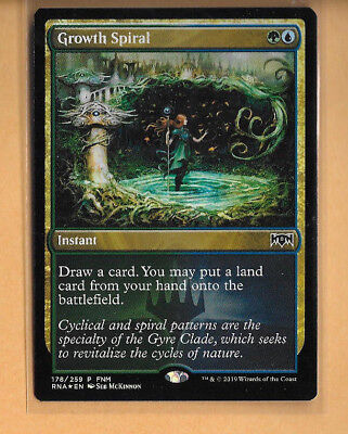 Magic the Gathering FNM GROWTH SPIRAL PROMO FOIL X1 NM