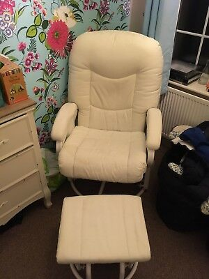 Nursing Glider Maternity Chair And Stool