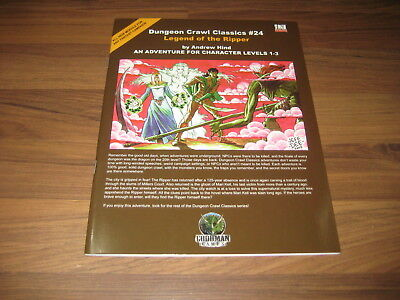 DCC Dungeon Crawl Classics #24 Legend of the Ripper SC 2005 Goodman Games EX