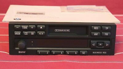 Original BMW Business RDS Autoradio Bedienungsanleitung Radiopass E36 E34 E30 CD