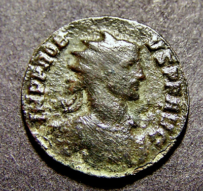 PROBUS, NIKE w/ German Captives, Victory, SCARCE Imperial Roman Emperor Coin