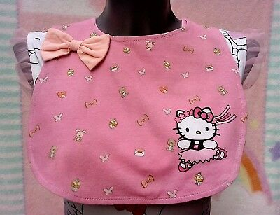 Adult baby bib -  Hello kitty theme