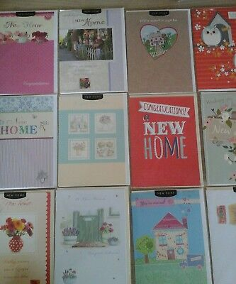 25 New Home Cards, Wholesale Joblot Greeting Cards
