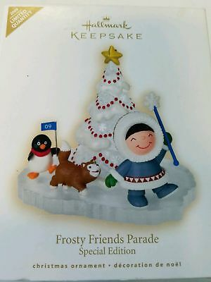 NEW Hallmark 2009 Frosty Friends Parade Ornament Special Edition Limited