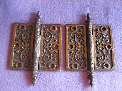 Victorian Cast Iron Door Hinge #2 Of 4 Pairs Available