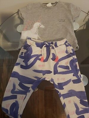 7a7f0392 ZARA BABY PANTS Outfit Toddler Girl 12-18 Months - $18.00 | PicClick