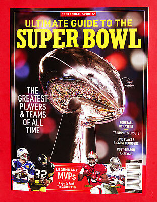 Centennial Sports ~ Ultimate Guide To The Super Bowl Book