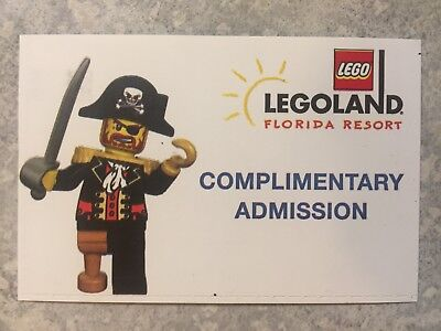 Legoland Florida 4 Tickets