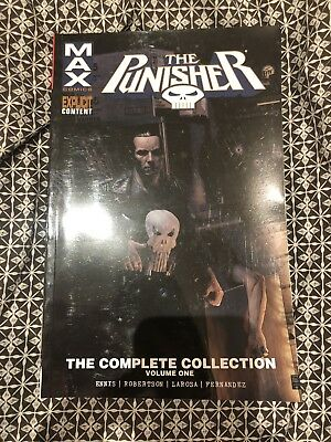 The Punisher Max The Complete Collection Garth Ennis Marvel Graphic Novel