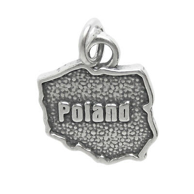 France map sterling silver charm .925 x 1 French Maps Country charms CF2-FR