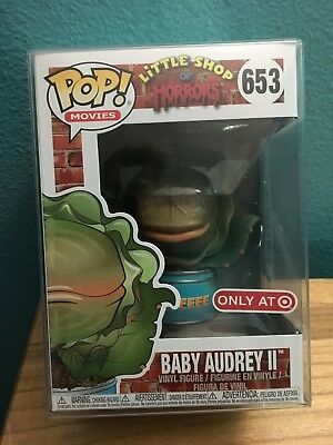 Funko Pop! Movies Little Shop Of Horrors #653 Baby Audrey II Target Exclusive!