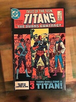 tales of the teen titans #44 1st nightwing 1984 George Perez