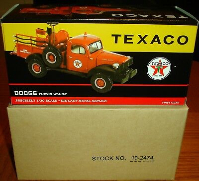 First Gear 19-2474 Texaco Forestry Division 1946 Dodge Power Wagon New